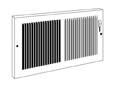 Baseboard Grille #664