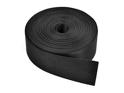 Black Nylon Flex Duct Strap